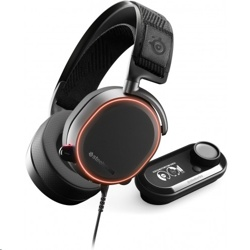 SteelSeries Arctis Pro+ Wired Gaming Headset with GameDAC