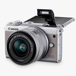 Canon EOS M100 + 15-45  f/3.5-6.3 IS STM Lens KIT