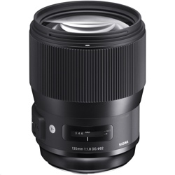 Sigma 135mm f/1.8 DG HSM Art Lens for Canon F