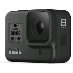 GoPro HERO8 — Waterproof Digital Action Camera with Touch Screen 4K HD Video 12MP Photos Live