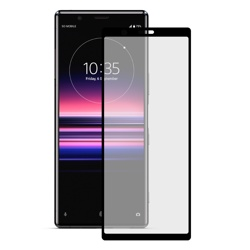 KSIX Full Cover 9H Screen Protector with Edge for Xperia 5