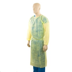 Body Shielder Disposable Non-woven Protective Gowns, PPE