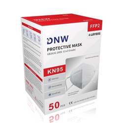 DNW Disposable KN95 Face Masks