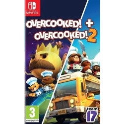 Nintendo Switch OVERCOOKED! + OVERCOOKED! 2