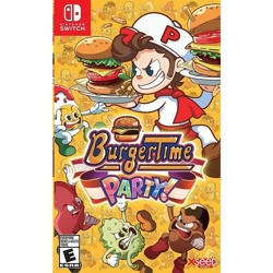 Nintendo Switch Burgertime Party