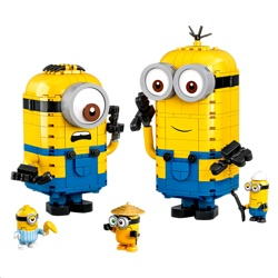 Lego 75551 Minions: Brick-Built Minions And Their Lair Set