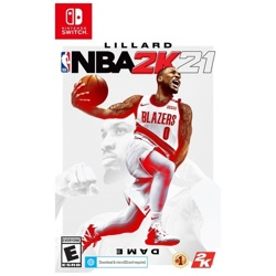 Nintendo Switch NBA 2K21