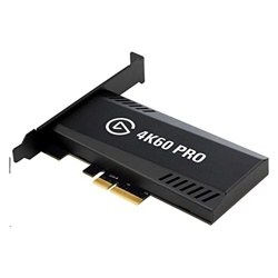 Elgato Game Capture 4K60 Pro MK.2 Media Streamer + Video Recorder