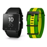 Sony SmartWatch 2 SW2 FIFA Edition with 2 Straps