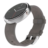 Motorola moto 360 Light Stainless Steel Case 拋光不鏽鋼錶款