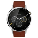 Motorola moto 360 (2nd Gen.) Mens 46mm Case, Cognac Leather