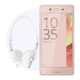 Sony Xperia X & White Stereo Bluetooth Headset