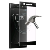 PURO Tempered glass w/Frame Standard MFX for Xperia XA1 Ultra