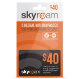 Skyroam Pre-Paid Global WiFi 5 Daypasses $40