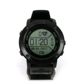 Tec IP68 Heart Rate Monitor GPS Smart Watch UW80C