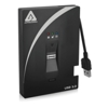 Apricorn Aegis Bio HDD 3.0 - 1TB (256-Bit AES-XTS with Biometric Fingerprint Access)