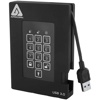 Apricorn Aegis Fortress HDD 3.0 - 500GB (256-bit AES-XTS エンクリプト, FIPS 140-2 Level 2)