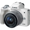 Canon EOS M50 15-45mm (White)