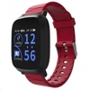 Tec Sante Blood Pressure Monitor Smart Watch SM30 (Red Strap)