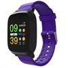 Tec Sante Blood Pressure Monitor Smart Watch SM30 (Purple Strap)