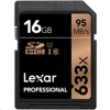 Lexar 633X SDHC  記憶卡 (16GB, 95MB/s read, 45MB/s write)