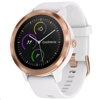 Garmin Vivoactive 3 Smart Watch (White with Rose Gold)
