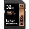 Lexar 633X SDHC  記憶卡 (32GB, 95MB/s read, 45MB/s write)