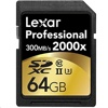Lexar 2000X SDXC 記憶卡 (64GB, 300MB/s read, 260MB/s write)