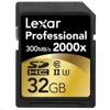 Lexar 2000X SDXC 記憶卡 (32GB, 300MB/s read, 260MB/s write)