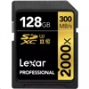 Lexar 2000X SDXC 記憶卡 (128GB, 300MB/s read, 260MB/s write)
