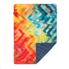 Rumpl Original Painted Puffy Blanket - Throw size (Geo)