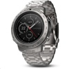 Garmin Fenix Chronos smart watch (Steel with Brushed Stainless Steel Band)