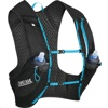 CamelBak Ultra Pro Vest 17oz (0.5L) Quick Stow Flask (Large size, Black/Atomic Blue)