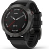 Garmin Fenix 6 Sapphire 進階複合式運動GPS腕錶 (Silicone Black Strap, Gray)