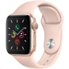 Apple Watch Series 5 / 40mm (Gold Aluminium Case / Pink Sand Sport Band)