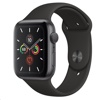 Apple 워치 시리즈 5 Watch Series 5 / 44mm (Space Grey Aluminium Case / Black Sport Band)