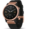 Garmin Fenix 6S Sapphire (Heathered Black Nylon Band, Rose-Gold Tone)