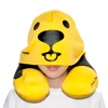 Sigema Neck Pillow with Hat Cover (Polar Bear Yellow, NP-SO-01)