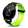 Tec Sante Optical Heart Rate & Blood Pressure Monitor Smart Watch SD6P (Green)