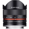 Samyang 8mm F2.8 Fish-eye II Lens (黒, Canon M mount)
