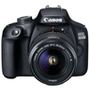 Canon EOS 2000D + EF-S 18-55mm f/3.5-5.6 DC III Lens Kit (Black)