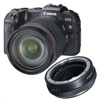 Canon EOS RP + R Mount Adapter + RF 24-105mm f/4L IS USM Lens Kit ()