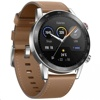 Huawei Honor Magic Watch 2 46mm MNS-B19 (Flax Brown, Brown Leather Strap)