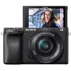 Sony Alpha a6400 Mirrorless Digital Camera + E PZ 16-50mm f/3.5-5.6 OSS Lens Kit (Black)