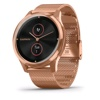 Garmin Vívomove Luxe Hybrid Smart Watch (Rose Gold / Milanese)
