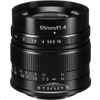 7 Artisans Photoelectric 55mm f/1.4 Lens (Fuji (Panasonic Olympus) Mount, Black)