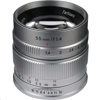 7 Artisans Photoelectric 55mm f/1.4 Lens (Sony E Mount, Silver)