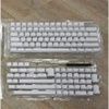 Vortex PBT ShineThrought 126 Keys Keycap (White)