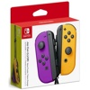 Nintendo Switch JOY-CON Controller Set (L+R, Neon Purple/Neon Orange)