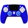 REDIX Silicone Protective Case Kit for PS5 Controller (Blue)